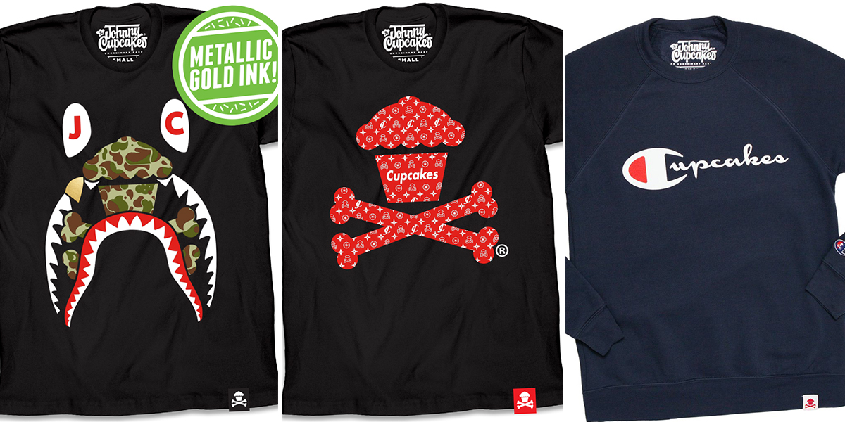 Johnny Cupcakes goes for street cred