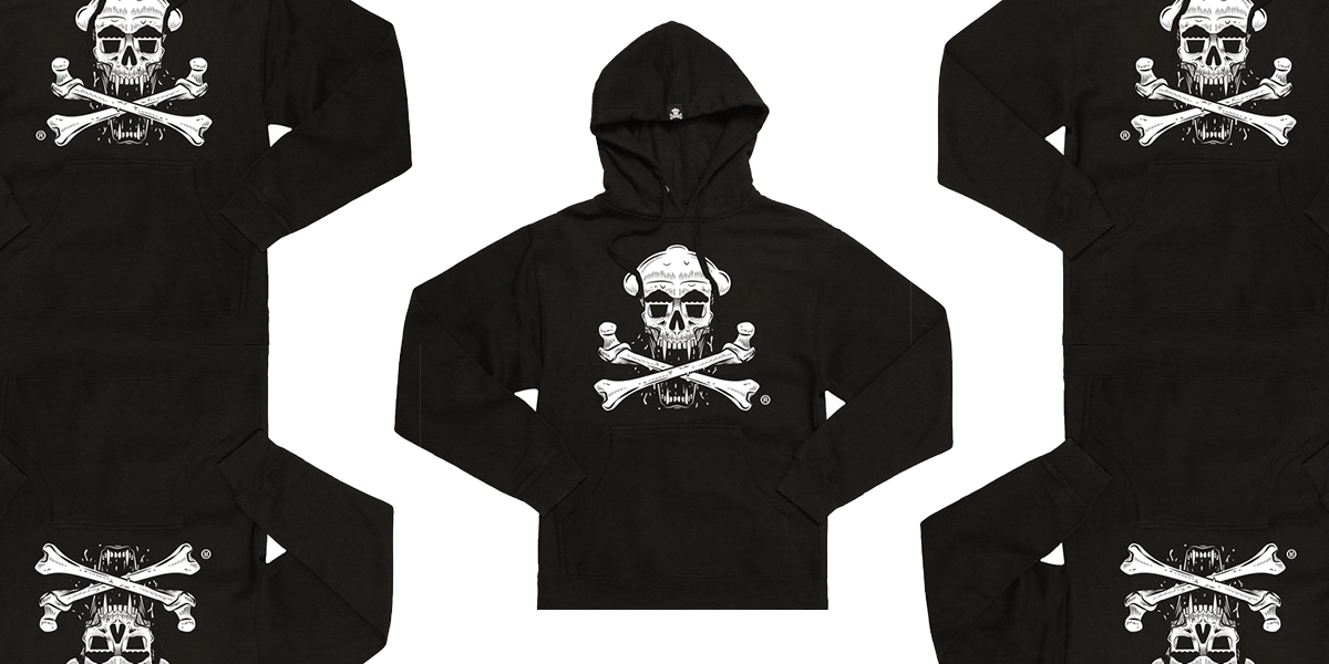 Day 7 is Hoodie Weather! 13 days Halloween at Johnny Cupcakes