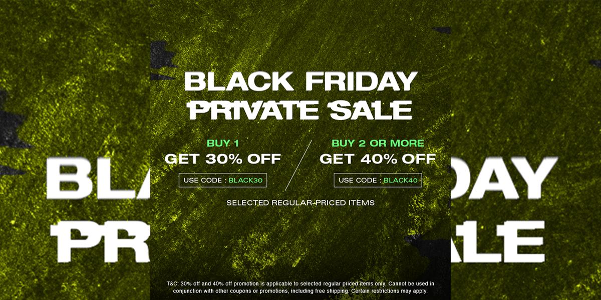 HBX Black Friday Private Sale