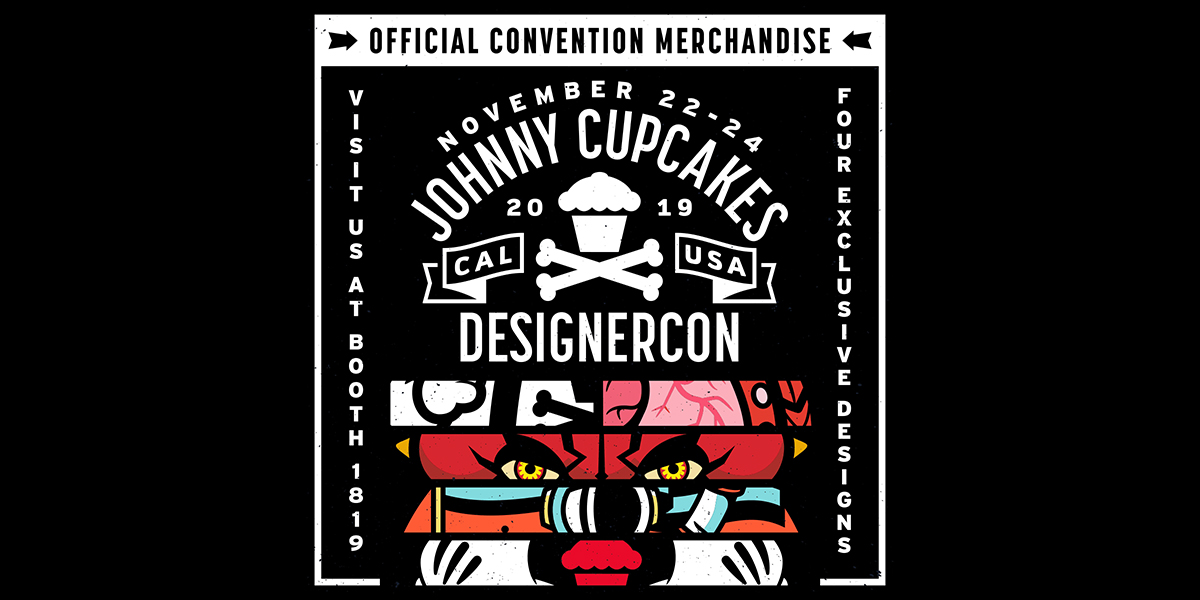 Johnny Cupcakes x DesignerCon exclusive releases