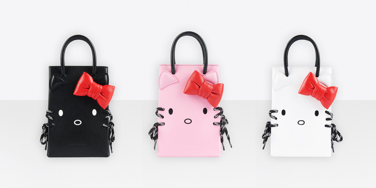 Balenciaga X HelloKitty Phone holders out now