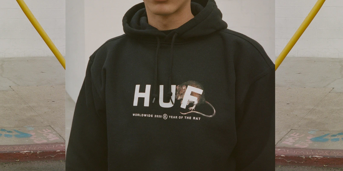 HUF celebrates the year of the Rat pack