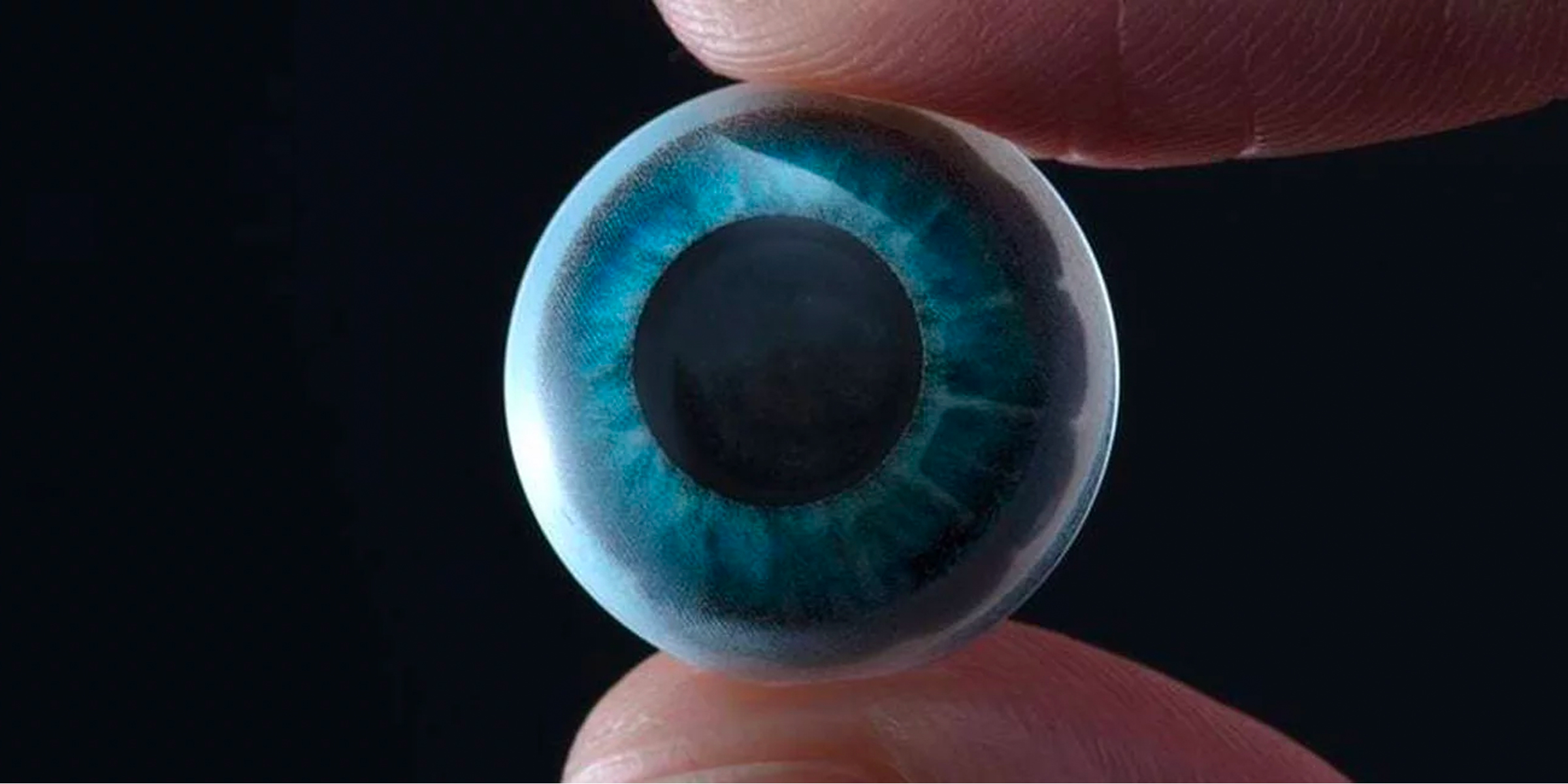 AR contact lenses with micro-displays